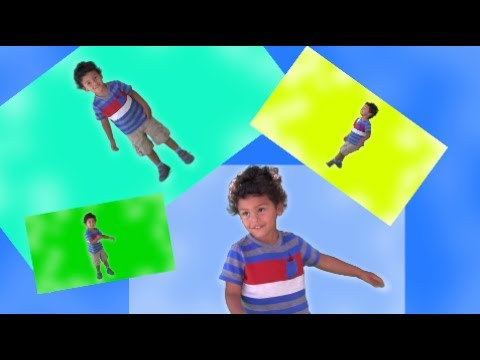 Clap Hands Stomp Feet And Spin Around Kids Warm Up Song Exercise
