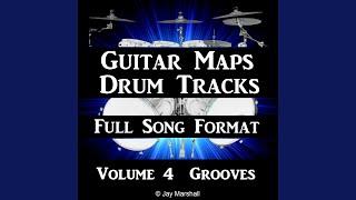 Groove Rock Drum Beat 90 BPM Bass Guitar Backing Track #299