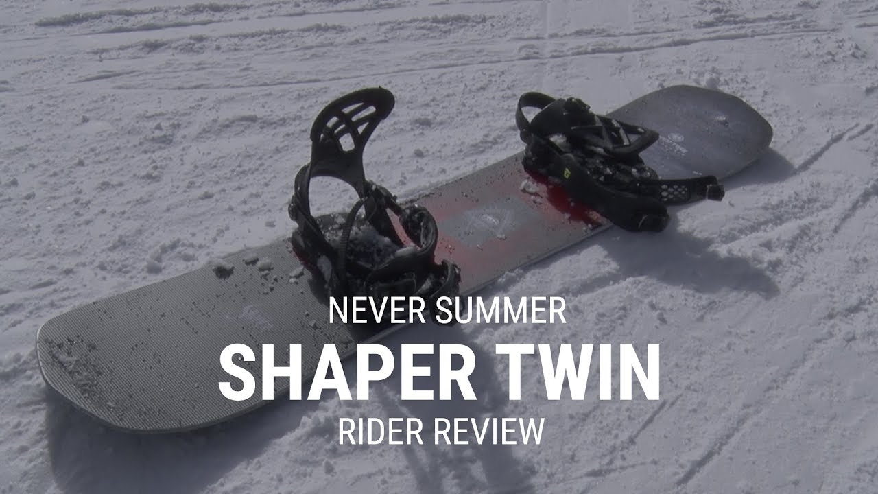 Never Summer Shaper Twin 2019 Snowboard Rider Review Tactics Youtube