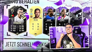 WTFFF! 95er RONALDO, MESSI + WHAT IF im PACK OPENING BABYYY | FIFA 21 Pack Opening