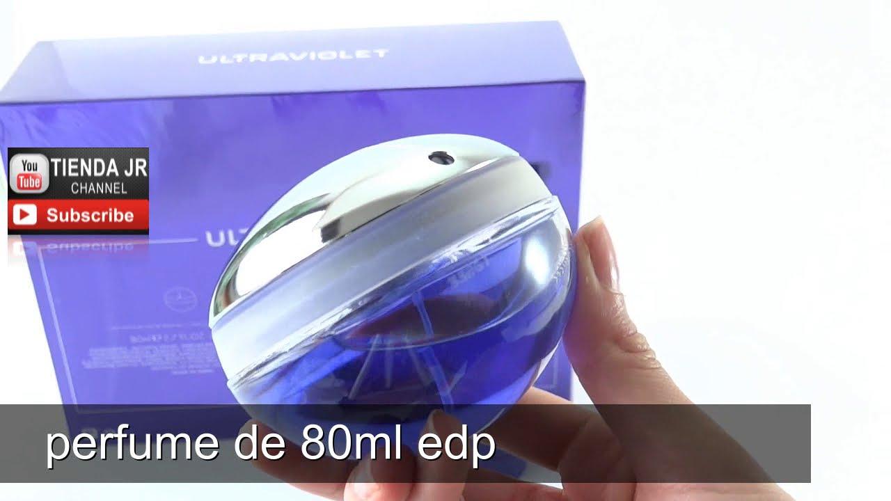 Estuche Para Dama Ultraviolet De Paco Rabanne Perfume EDP 80 Ml + Crema Corporal 100 Ml
