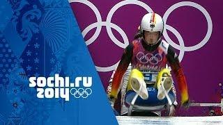 Women's Luge - Runs 1 and 2    Sochi 2014 Winter Olympics