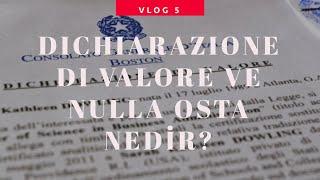 İtalya Vlog 5 I Dichiarazione di Valore ve Nulla Osta Nedir/Nasıl Alınır?.mp3