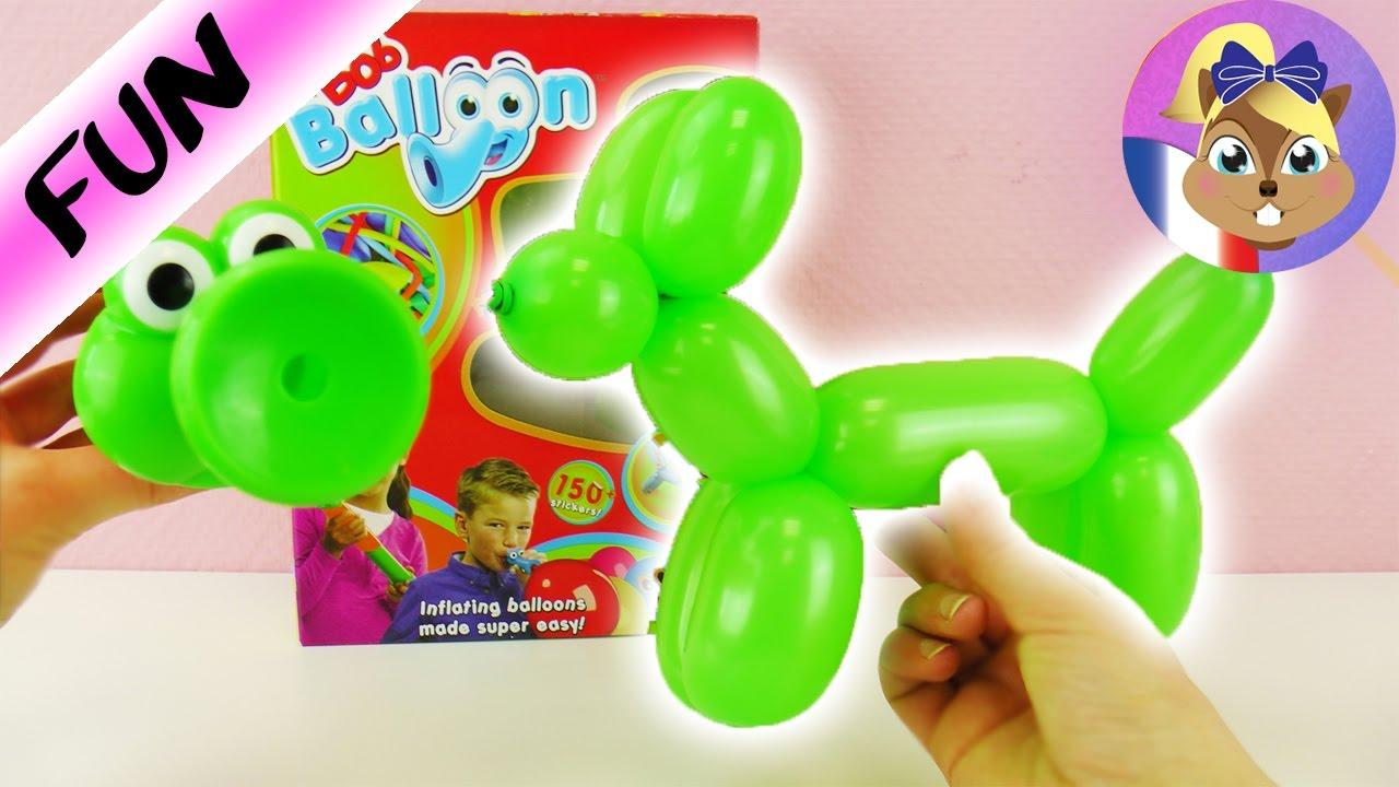 bob balloon fabriquer des animaux avec des ballons de baudruche chien en ballon joue avec. Black Bedroom Furniture Sets. Home Design Ideas