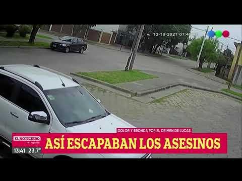 Video: así escaparon los ladrones que mataron al joven de 17 que se dirigía a la escuela