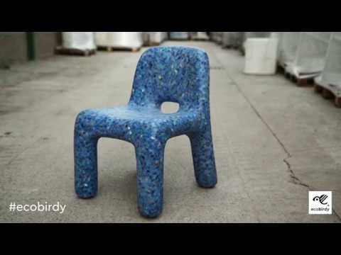 ecoBirdy design furniture and recycling plastic toys