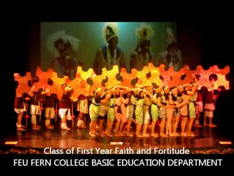 first year faith and fortitude african dance.wmv