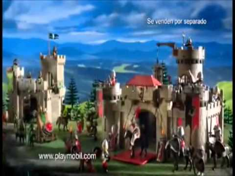 Playmobil caballeros youtube for Playmobil caballeros