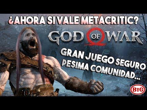 GOD OF WAR 4 ¿Ahora SI vale METACRITIC? | GRAN JUEGO seguro, PÉSIMA COMUNIDAD (en parte)
