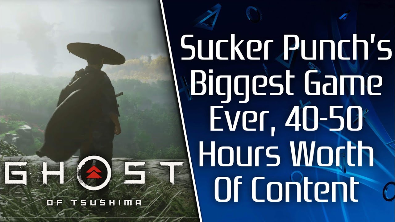 'Ghost of Tsushima': How Sucker Punch Built the Massive World in ...