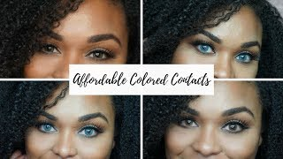 Affordable Colored Contact for Dark Eyes| ColorCL