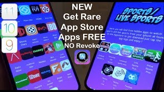 NEW Get Rare App Store Apps FREE iOS 12 - 12.4 / 11 / 10 NO Revoke NO Jailbreak iPhone iPad iPod