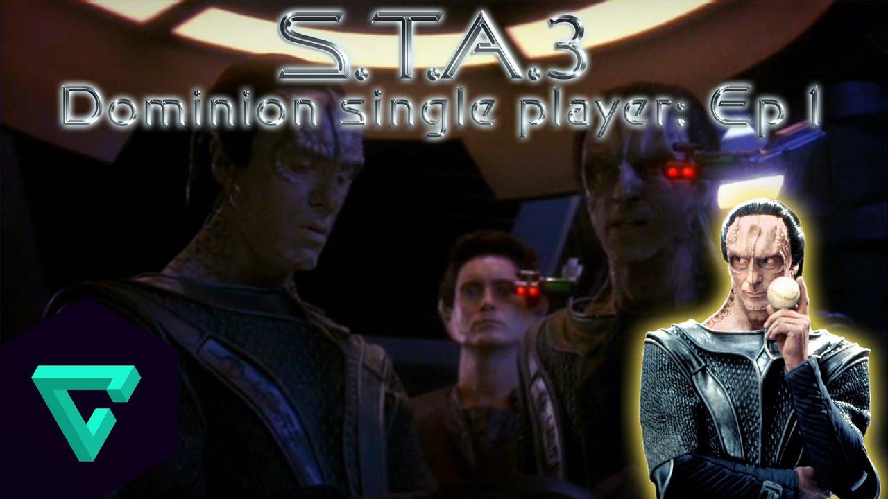 Star Trek Armada 3 Single player: Dominion, Ep 1 - YouTube