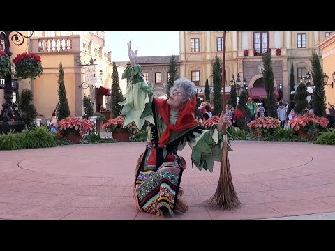 La Befana Italy Holiday Storyteller at Epcot Holidays Around The World 2015 - Walt Disney World