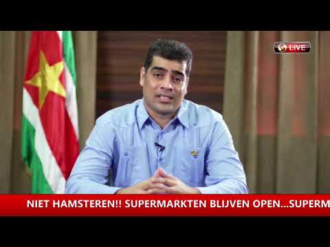 Statement Vice President Republiek Suriname