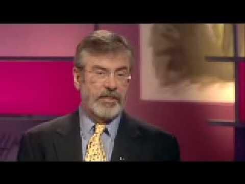 Gerry Adams interview - part 1