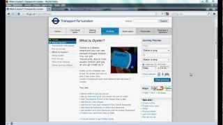 Wie benutzt man die U-Bahn in London (mit der Oyster-Card)?