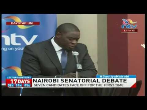 Sakaja on the Employment Act and Procurement Act #NairobiSenatorialDebate 2017