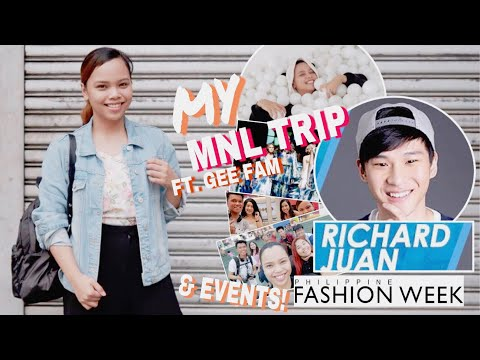 VLOG # 24: Hi, RICHARD JUAN! (Philippine Fashion Week, Ball Pit Manila, GeeFam)