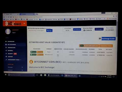 Bitconnect Loan Explained And How To Earn Bitcoin daily with BitConnect, explained in detail