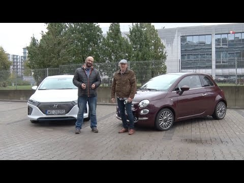 Auta bez ściemy – Hyundai Ioniq kontra Fiat 500: czyli dwa sposoby na miejski samochód
