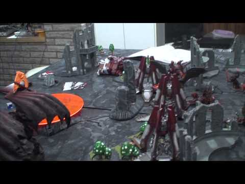TBMC - HD Video Batrep - 1850 Blood Angels vs Khorne Daemonkin