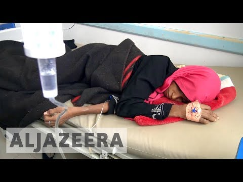 Yemen cholera crisis: UN condemns 'man-made scandal'