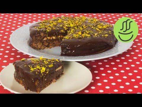 15 Dakikada Çikolatalı Kolay Pasta - Muzlu Çikolatalı Pasta - Çikolatalı Pasta Tarifi