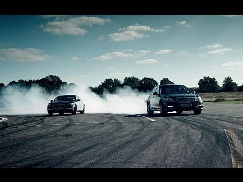 BMW 760Li Vs Mercedes S63 AMG | Top Gear