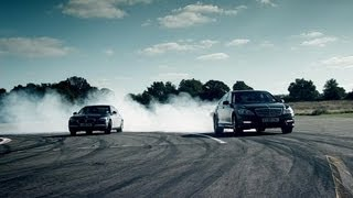 BMW 760Li vs Mercedes S63 AMG | Top Gear