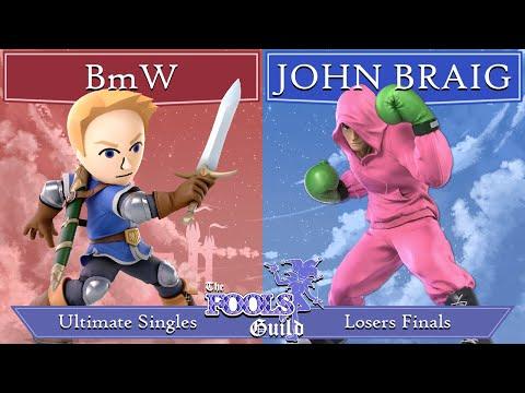 The Fools' Guild II Losers Finals - BmW (Mii Swordfighter) vs JOHN BRAIG (Wario, Little Mac) |