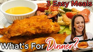 WHAT'S FOR DINNER? | EASY DINNER IDEAS | SIMPLE MEALS | NO. 46