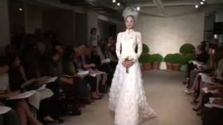 Oscar de la Renta Bridal - Spring 2011 -  Videofashion Daily