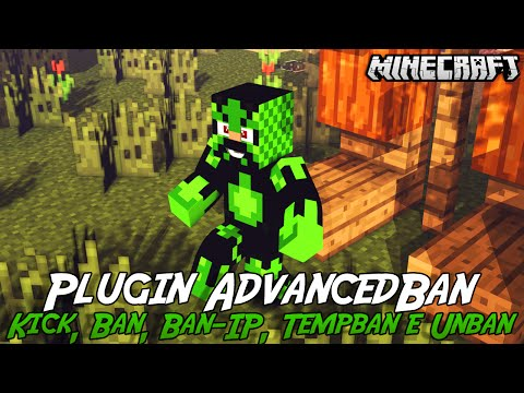 Minecraft Plugin Tutorial AdvancedBan - Kick, Ban, Ban-IP, Tempban e Unban