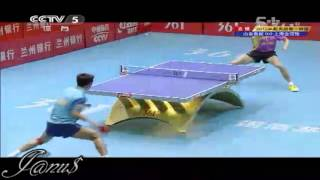 2012 China Super League: ZHANG Jike - WANG Liqin [Full Match/Short Form]