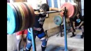 cazaly jeremiah squat 260kg nauru