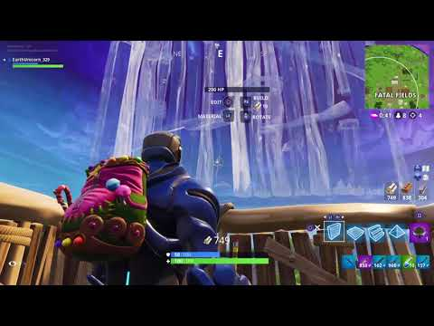 Fortnite i got my first ever solo win 7 kill gameplay!!!!!!!!