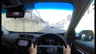 【Test Drive】2018 New HONDA CR-V HYBRID 2.0L 4WD - POV City Drive