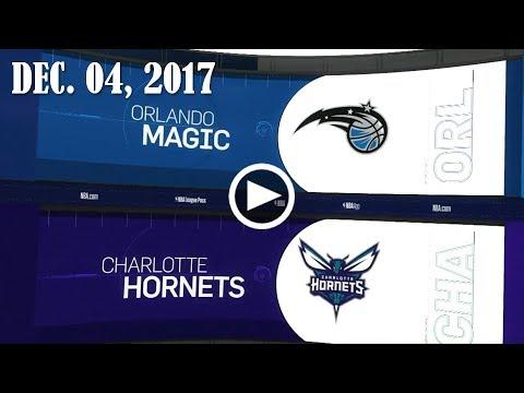2017.12.04 NBA DAILY RECAP : ORL @ CHA