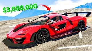 NEW $3,000,000 SUPER CAR In GTA Online! (GTA 5 DLC)