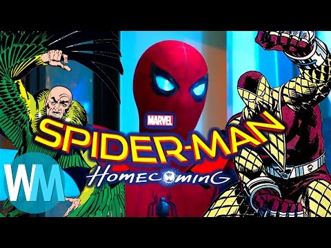 Spider-Man: Homecoming - First Look at Shocker, Vulture & Iron Man!