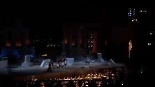 """Etna - Teatro Greco di Taormina - Tosca - """"Presto, su! Mario Mario!"""""""