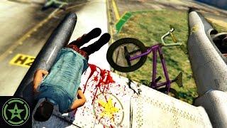 Let's Play - GTA V - Sky Bike
