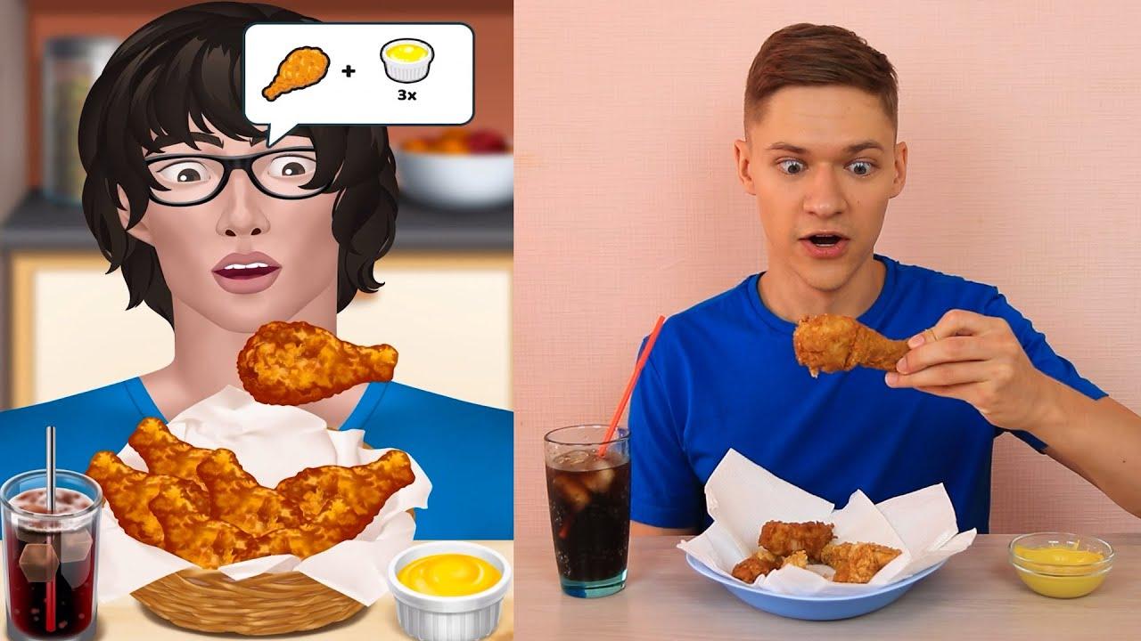 Mega Mukbang Game - My Parody [Fried Chicken]