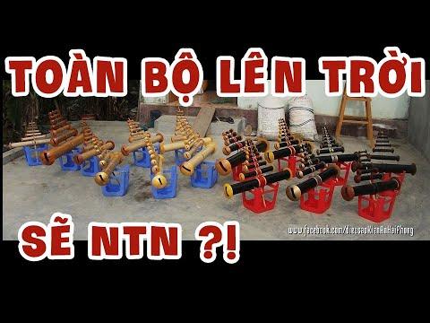 Toàn bộ sáo diều của dòng sáo Kiến An Hải Phòng - từ bé đến lớn - Vietnamese Kite Flutes