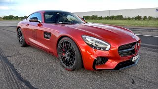 744HP Mercedes-AMG GTS JB Automotive - REVS, ACCELERATIONS & DRAG RACE!