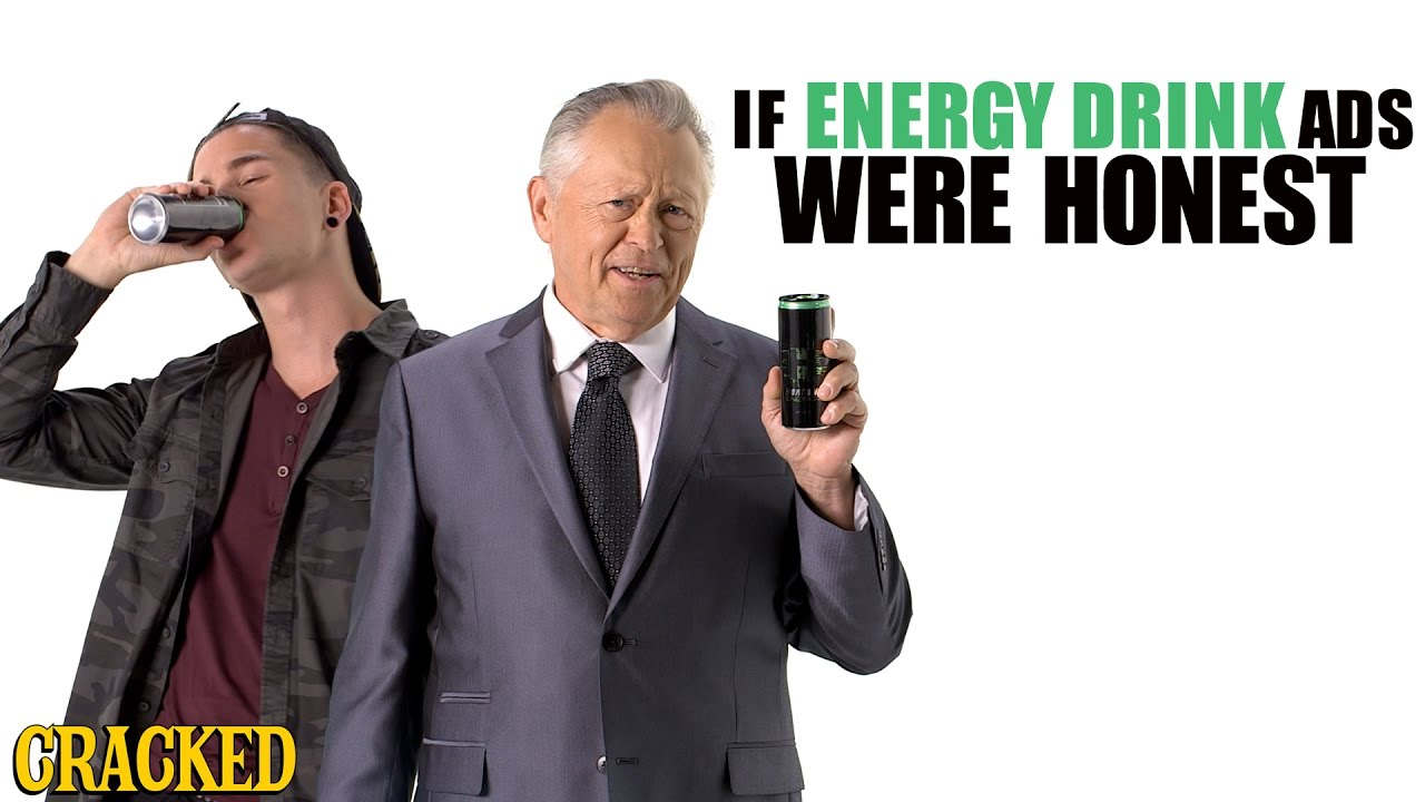 If Energy Drink Ads Were Honest