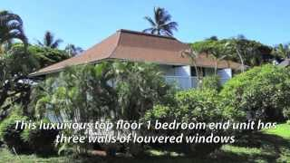 Luxurious Kauai Top Floor Corner Unit Vacation Rental At The Beachfront Kiahuna Resort