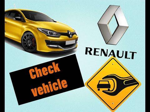 Check Vehicle⚠️RENAULT Megan🛠 Замена датчика заднего хода и нейтральной передачи Ремонт авто