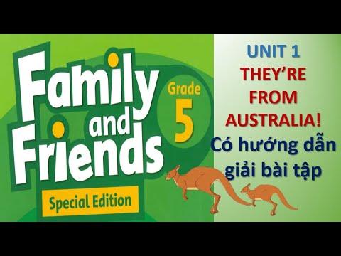 [Tiếng Anh lớp 5]_Family&Friends _UNIT 1_Giọng phát âm chuẩn của người bản xứ.